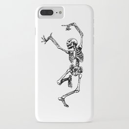 DANCING SKULL iPhone Case