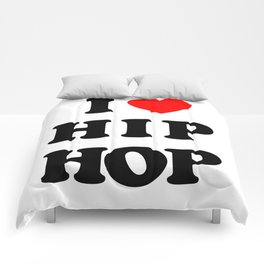 I love Hip Hop Comforters