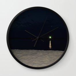 Green Gatsby Wall Clock