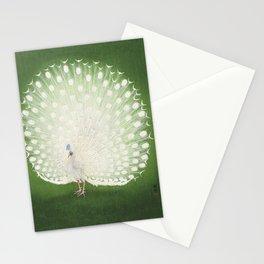 Marvellous Peacock - Vintage Japanese woodblock print Art Stationery Cards
