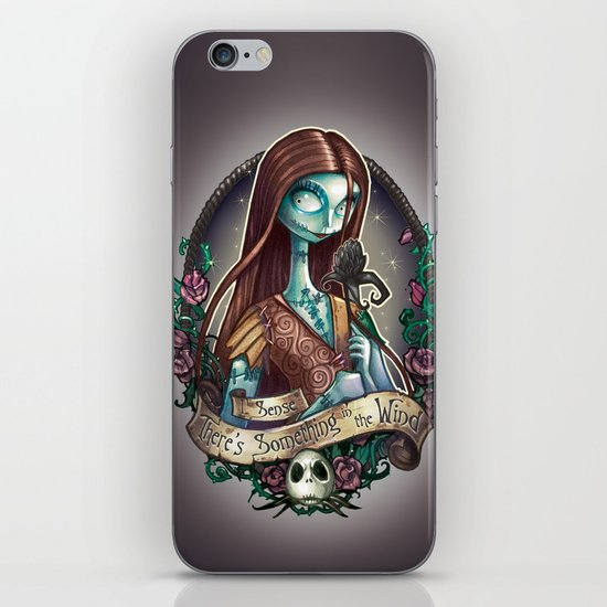 """""""Something In the Wind"""" iPhone & iPod Skin"""