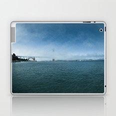 Golden Gate Bridge + Fog Laptop & iPad Skin