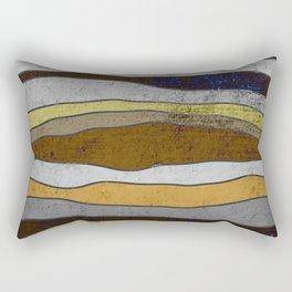 Nordic Layers - Abstract, Textured Art Rectangular Pillow