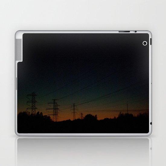 Wired road Laptop & iPad Skin