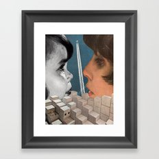 A Wider Echo Framed Art Print