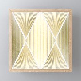 Folded Gold Framed Mini Art Print