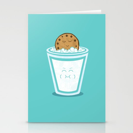 Hot Tub Cookie Stationery Cards
