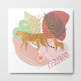 Cheetah #3 Metal Print