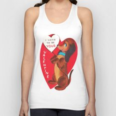 I Long to be Your Valentine Unisex Tank Top