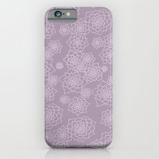 Faded Desert Floral Slim Case iPhone 6s
