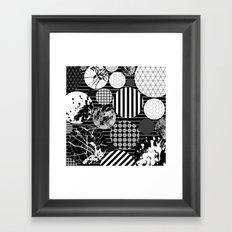 Eclectic Circles II Framed Art Print