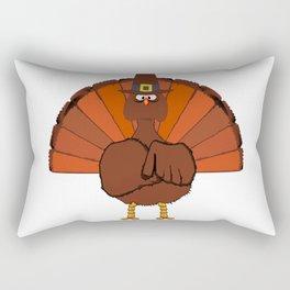 Thanks Giving Turkey Rectangular Pillow