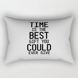 Gift of Time Rectangular Pillow