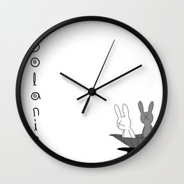 Solanin Wall Clock