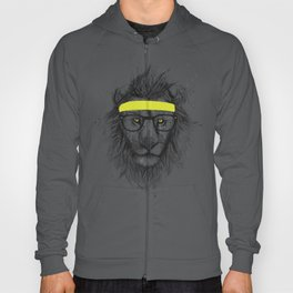 hipster lion Hoody