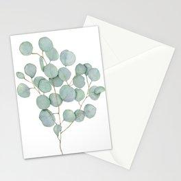 Eucalyptus 1 Watercolor Print by Liz Ligeti Kepler Stationery Cards