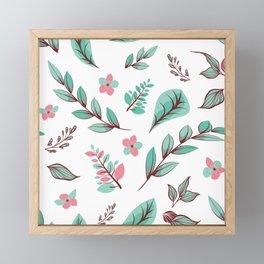 Flower Design Series 15 Framed Mini Art Print