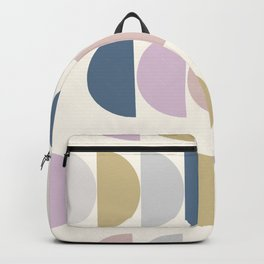 Simple Shapes in a Modern Winter Palette Backpack