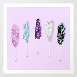 Mineral Rock Candy Art Print