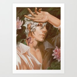 Thancred Waters: Water Lily Art Print