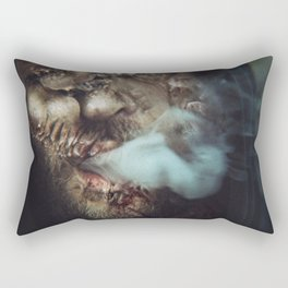 Smoking Relieves The Mutation Itching Rectangular Pillow