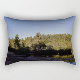 Muddy Day Rectangular Pillow