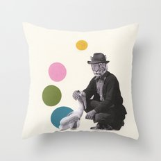 A False Sense of Security Throw Pillow