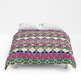 Ornament in the style of hippies. Comforters