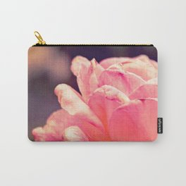 Fading Flower Carry-All Pouch
