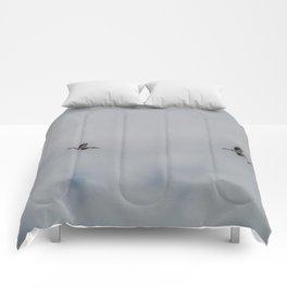 Woodstorks in Flight Comforters