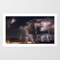 Talmadge Thunder Art Print