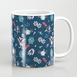Metal Burst Coffee Mug