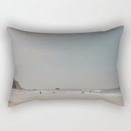 Surfer's Beach Rectangular Pillow