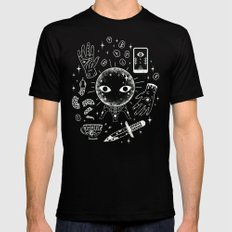 I See Your Future: Glow Mens Fitted Tee LARGE Black