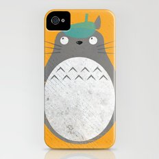 Homenaje a Totoro iPhone (4, 4s) Slim Case