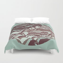 TOPOGRAPHY 002 Duvet Cover