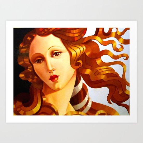 Beauty 2 Art Print