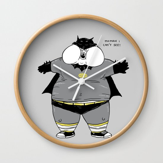 Fat Kid Costume Wall Clock