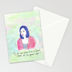 April Ludgate 2 Stationery Cards