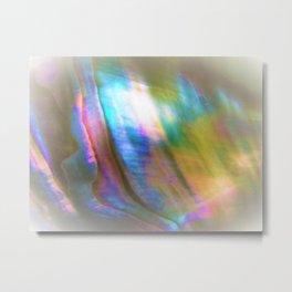 Peaceful Abalone Metal Print