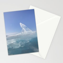 Ice sculptures of Baikal Stationery Cards