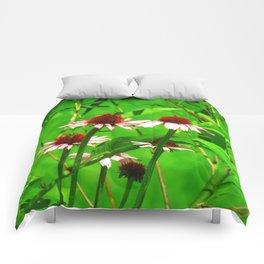Coneflower Blooms Comforters