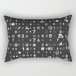 Information technologies Rectangular Pillow