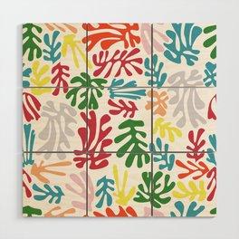 Matisse Pattern 004 Wood Wall Art