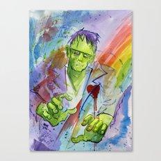 Friend Frankenstein Canvas Print