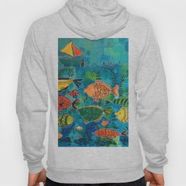 Fish Are Friends Hoody