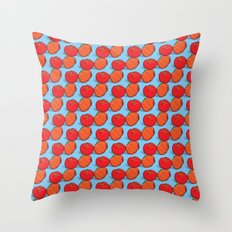 Brazil fruits - acerolas & pitangas Throw Pillow