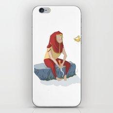 henon and his bird iPhone & iPod Skin