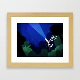 What they're seeing Framed Art Print