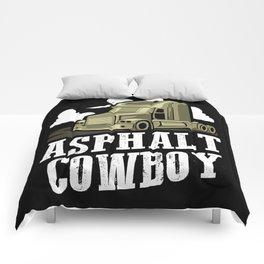 Asphalt Cowboy | Trucker Comforters